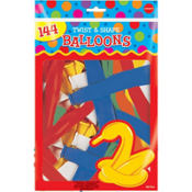 Animal Twist & Shape Balloons 144ct
