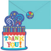 Birthday Fever Thank You Notes Value Pack