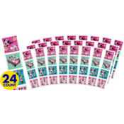 Minnie Mouse Sticker Squares Packets 24ct