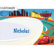 Cars 2 Custom Thank You Note