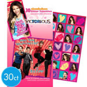 Victorious/Big Time Rush Valentines Day Cards with Stickers 30ct