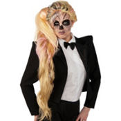 Side Ponytail Lady Gaga Wig