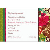 Natural Instincts Custom Invitation