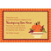 Autumn In The Country Custom Invitation