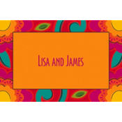 Fiesta Caliente Custom Thank You Note