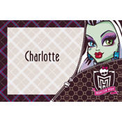 Monster High Custom Thank You Note