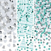 Robin's Egg Blue Wedding Confetti 1 1/5oz