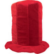 Tall Red Top Hat