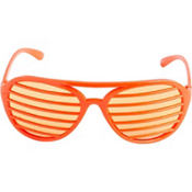 Orange Slotted Shades