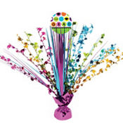 Colorful Commencement Graduation Spray Centerpiece 18in
