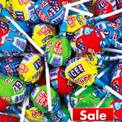 Icee Fizzing Lollipops 133ct Bag