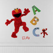 Sesame Street Elmo Wall Decals 23in