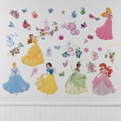 Disney Princess Wall Decals 18in 4ct
