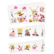 SpongeBob Tattoo Value Pack 72pc