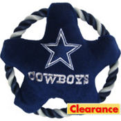 Dallas Cowboys NFL Star Rope Disk