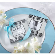 Love Always & Forever Coaster Wedding Favor