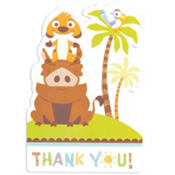 Lion King Baby Shower Thank You Notes 8ct