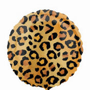 Foil Cheetah Balloon 18in