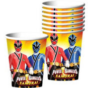Power Rangers Cups 8ct