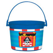 Pirate's Treasure Favor Container 4in