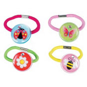 Garden Girl Hair Bands 4ct