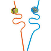 Toy Story Krazy Straws 2ct