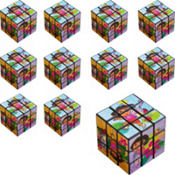 Dora the Explorer Puzzle Cubes 24ct