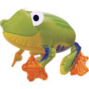 Gliding Frog Balloon 22in x 15in
