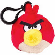 Red Angry Birds Backpack Clip