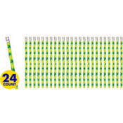 St. Patricks Day Shamrock Pencils 72ct<span class=messagesale><br><b>25¢ per piece!</b></br></span>