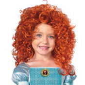 Child Princess Merida Wig