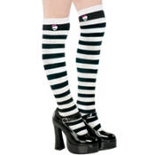Child Striped Monster High Knee High Socks