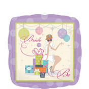 Foil Chic Bride To Be Bridal Shower Balloon 18in