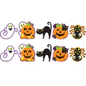 Mini Halloween Cutouts 10pc