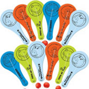 Toy Story Mini Paddle Balls 12ct