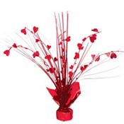 Heart Spray Centerpiece 11in