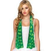 Satin Shamrock Scarf 60in