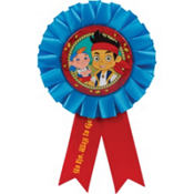 Jake and the Never Land Pirates Award Ribbon 6in