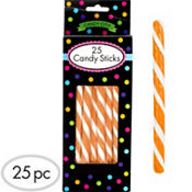 Orange Candy Sticks 12.5oz