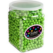 Kiwi Green Chocolate Sixlets 1330pc