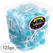 Caribbean Blue Lollipops 26oz