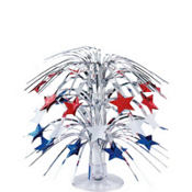 Patriotic Stars Cascade Centerpiece 8in