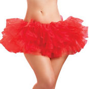 Red Tiered Tutu