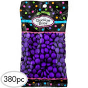 Purple Chocolate Drops 380pc
