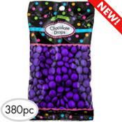 Purple Chocolate Drops 380pc
