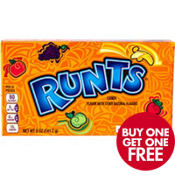 Runts Fruit Candy Concession Box 108pc