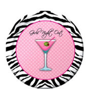 Sassy and Sweet Girls Night Out Dessert Plates 8ct