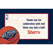 New Orleans Hornets Custom Thank You Note
