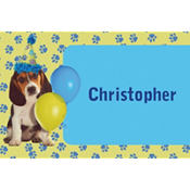 Party Pups Custom Thank You Note
