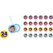 Dora the Explorer Slide Mirrors 24ct